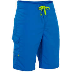Palm Skyline Board Shorts  - Blau