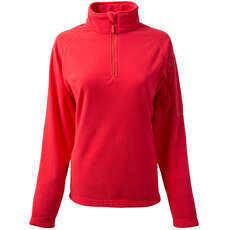 Gill Womens Grid Microfleece - Koralle