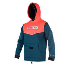 Mystic Spannung Sweat Neopren Hoody 2019 - Coral