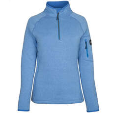 Gill Damen Strick Fleece  - Hellblau