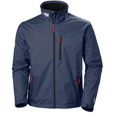 Helly Hansen Crew Mid Layer Jacke - Navy