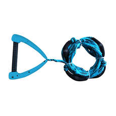 Hyperlite 25 Ft Pro Surf Rope Mit Griff - Blau