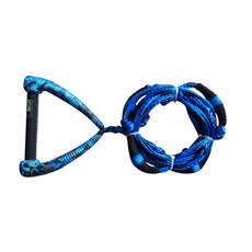 Hyperlite 25 Ft Riot Surf Rope Mit Griff - Blau