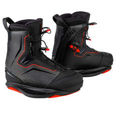 Ronix One Boot Intuition Wakeboard-Stiefel - Carbitex / Rot