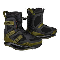 Ronix Supreme Exp Intuition Wakeboard-Stiefel - Oliv / Rot