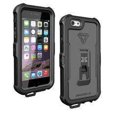 Rüstung-X Wasserdicht Iphone 6 / 6S Case - Generation 2 - Schwarz