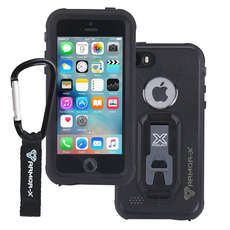 Rüstung-X Wasserdicht Iphone 5 / 5S Plus-Case - Generation 2 - Schwarz
