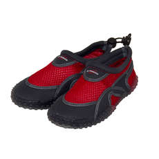 Gul Junior Aqua Beach Schuhe  - Red / Charcoal
