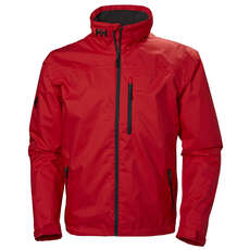 Helly Hansen Crew Mid Layer Jacke 2019 - Rot
