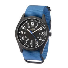 Limit Herren Military Style Analoguhr - Blau