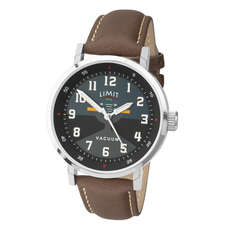Limit Herren Pilot Aviator Style Analoguhr - Braun