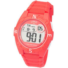 Limit Junior / Ladies Countdown Digitaluhr - Coral Red