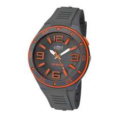 Limit Herren Analoge Wassersportuhr - Grau Orange