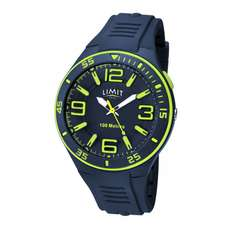 Analoge Wassersportuhr Für Herren Limit - Navy Lime