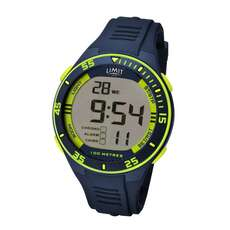 Limit Herren Digital Wassersportuhr - Navy Lime