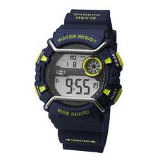 Limit Wireguard Herren Digital Wassersportuhr - Navy Lime