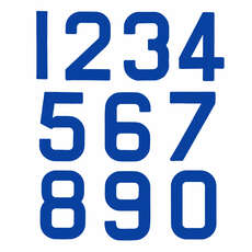 Ersatz Optimist Sail Numbers - Klasse Legal - Blau