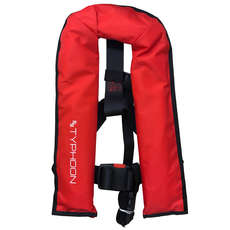 Typhoon Racer Junior Automatische 150N Life Jacket - Red