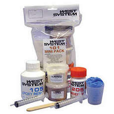 West-Systeme 101 Mini Pack Epoxidharz Und Härter Kit [105/205]
