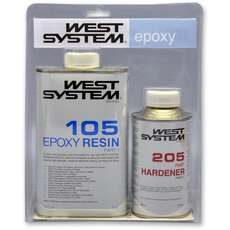 West-Systems A-Pack-Epoxidharz-Kit [105/205] 1.2Kg