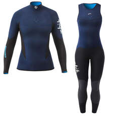 Zhik Womens Microfleece V Skiff Anzug / Top Kit Bundle 2019