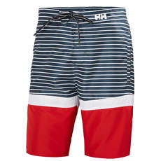 Helly Hansen Marstrand Trunk - Navy Streifen