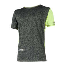 Mystic Drip Kurzarm Quickdry 2019 - Lime