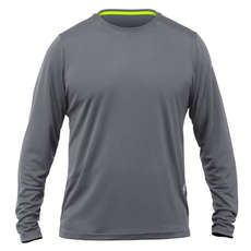 Zhik Long Sleeve Zhikdry Lt T-Shirt 2019 - Grau