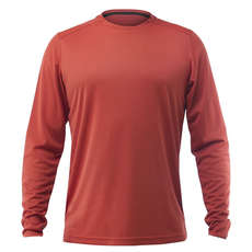 Zhik Long Sleeve Zhikdry Lt T-Shirt 2019 - Rost